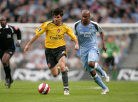 I run after Fabregas during my first match at home with City in 2006, we won against Arsenal 1-0
